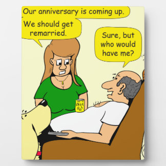 838 we should get remarried cartoon photo plaques