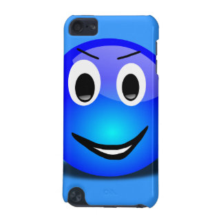 83-Free-3d-Grinning-Blue-Smiley-Face-Clipart-Illus iPod Touch (5th Generation) Cases