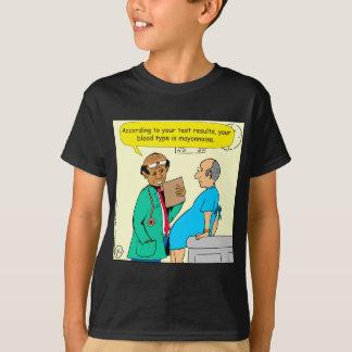 861 blood is mayonnaise cartoon T-Shirt