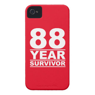 88 year survivor iPhone 4 cases