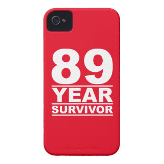 89 year survivor Case-Mate iPhone 4 case