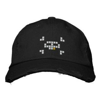 8 Bit Pirate Embroidered Baseball Caps