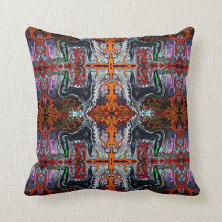 8 Breath of Fire Yoga Pillow by deprise brescia