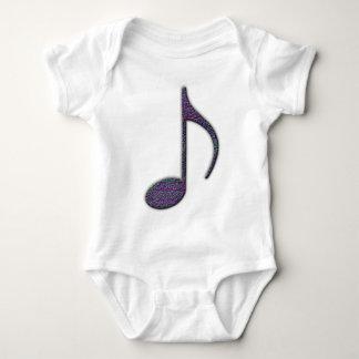 8 Note Baby Bodysuit