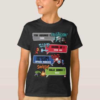 8Bit Avengers Attack T-Shirt