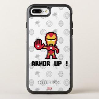 8Bit Iron Man - Armor Up! OtterBox Symmetry iPhone 8 Plus/7 Plus Case