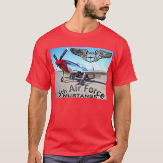 8th Air Force Mustangs T-Shirt