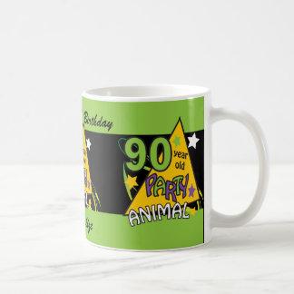 90 Year Old Party Animal Personalize Birthday Mug Mug