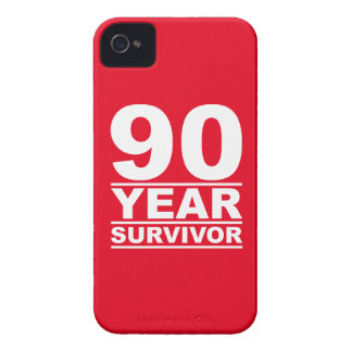 90 year survivor Case-Mate iPhone 4 cases