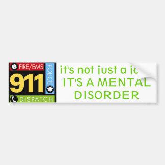 911 Operator Bumper Sticker