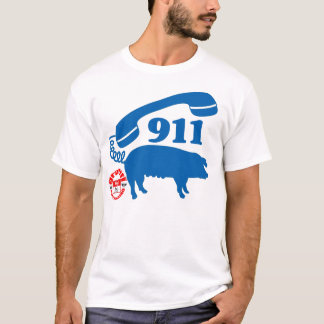 911 PIGGY (MyPrymate) T-Shirt