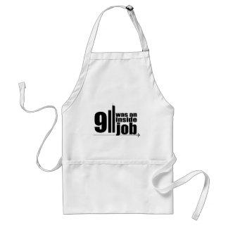 911 was an inside job standard apron