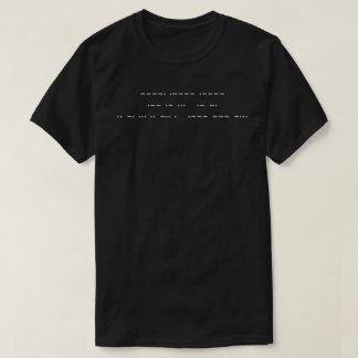 911 WAS AN INSIDE JOB ( white morse code ) T-Shirt