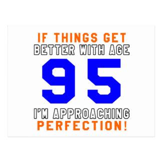 95 Perfection Birthday Designs Postcards