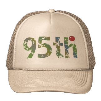 95th Birthday Balloon Gifts Mesh Hat