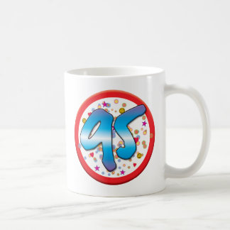 95th Birthday Basic White Mug