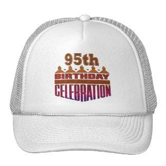 95th Birthday Celebration Gifts Trucker Hats