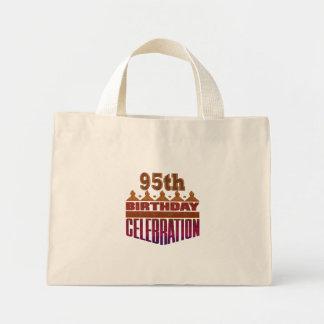 95th Birthday Celebration Gifts Mini Tote Bag