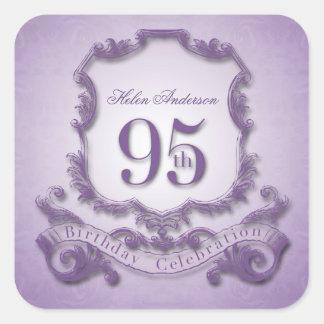95th Birthday Celebration Personalized Stickers