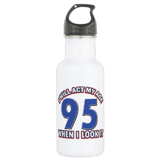 95th birthday designs 532 ml water bottle