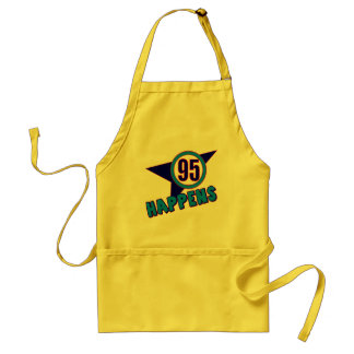 95th Birthday Happens Gifts Standard Apron