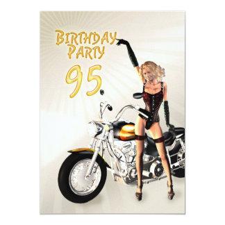 95th Birthday party Invitation