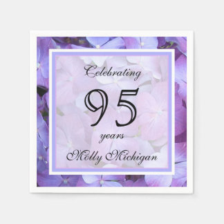 95th Birthday Party Paper Napkins