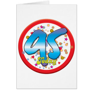 95th Birthday Today Greeting Card