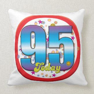 95th Birthday Today v2 Pillows