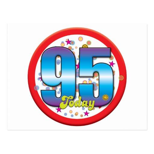 95th Birthday Today v2 Post Card