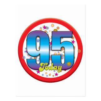 95th Birthday Today v2 Postcard
