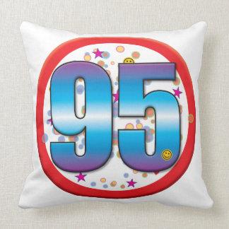 95th Birthday v2 pdf Throw Pillow