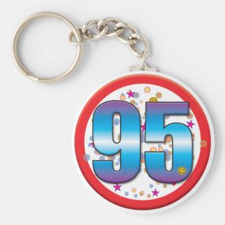 95th Birthday v2 pdf Key Chains