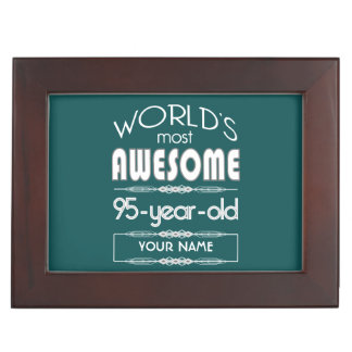 95th Birthday Worlds Best Fabulous Dark Green Fore Memory Boxes
