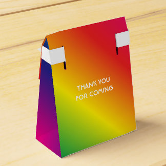 95th Birthday Worlds Best Fabulous Rainbow Favour Box
