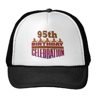 95th Celebration Birthday Gifts Cap