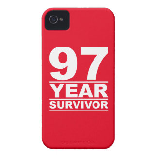 97 year survivor Case-Mate iPhone 4 cases