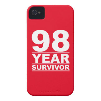 98 year survivor Case-Mate iPhone 4 case