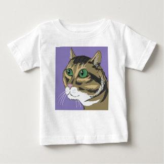 98Cat Head_rasterized Baby T-Shirt