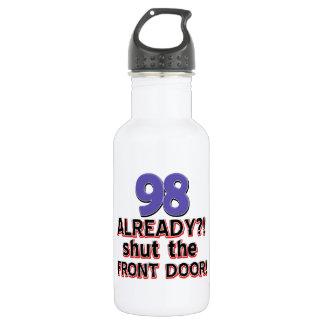 98th year old birthday designs 532 ml water bottle