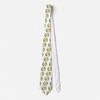 99 NIGERIA Gold Tie