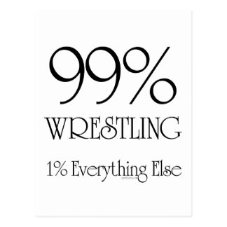 99% Wrestling Postcard