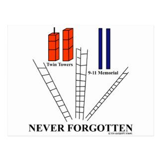 9/11 Honor Fallen Postcard