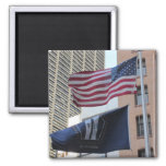 9/11 Memorial Flags Refrigerator Magnets