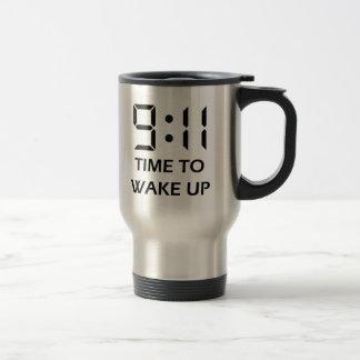 9 11 Time to wake up Kaffe Mugg