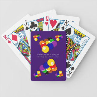 9-ball Pool fun Bicycle Playing Cards