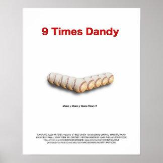 9 Times Dandy Poster