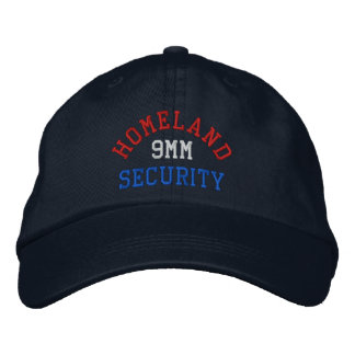 9MM Homeland Security Embroidered Hats