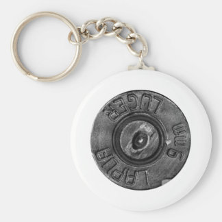 9mm Luger Key Ring
