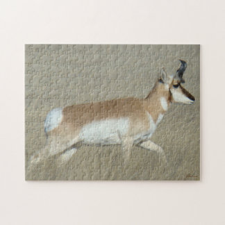 A0044 Pronghorn Antelope Buck Puzzles